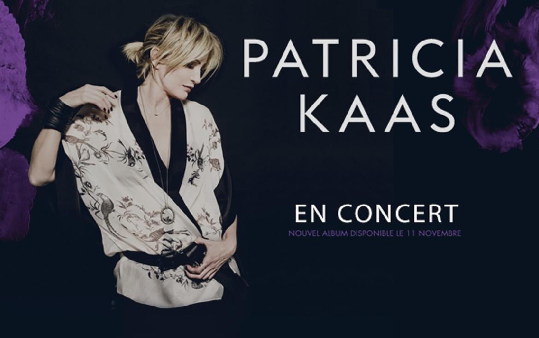 Plakat promujący nową płytę Patricii Kaas