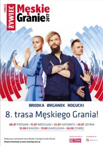 Plakat Męskiego Grania 2017