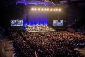 Atlas Arena podczas koncertu Ennio Morricone