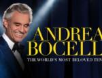 Plakat trasy koncertowej Andrei Bocellego