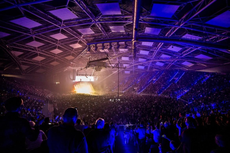 Atlas Arena podczas koncertu Queen