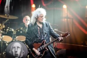 Brian May w Łodzi