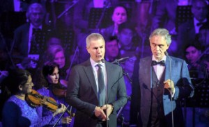Alessandro Safina i Andrea Bocelli
