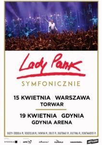 Lady Pank Symfonicznie - plakat