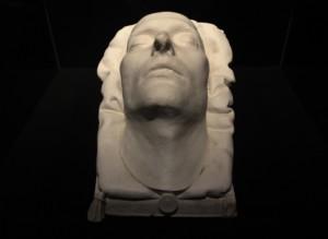 Maska pośmiertna Napoleona Bonaparte - materiał prasowy