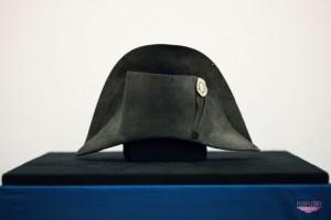 Kapelusz Napoleona Bonaparte - materiał prasowy