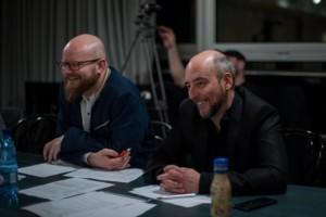 Jacek Mikołajczyk i Tomasz Steciuk podczas castingu - fot. Paweł Rybałtowski