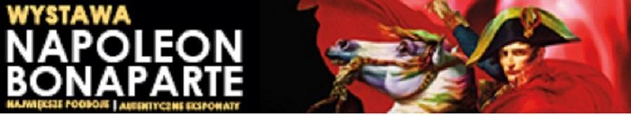 Logotyp wystawy NAPOLEON BONAPARTE