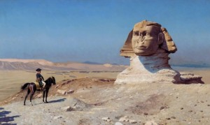 Napoleon i Sfinks - materiał prasowy