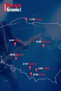 Trasa Męskiego Grania 2018 - materiał prasowy