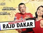 Małżeński Rajd Dakar_plakat
