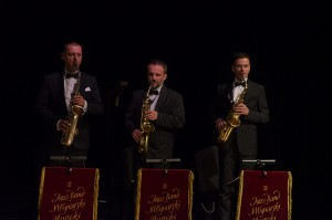 Saksofoniści Jazz Bandu Młynarski Masecki - fot. Weronika Trzeciak