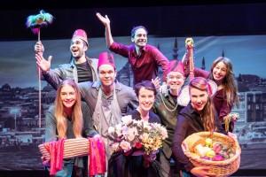 Tylko głupcy się smucą, Teatr Yiddishpiel - fot. materiały organizatora
