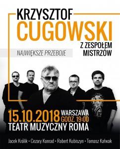 Cugowski i Zespół Mistrzów -plakat