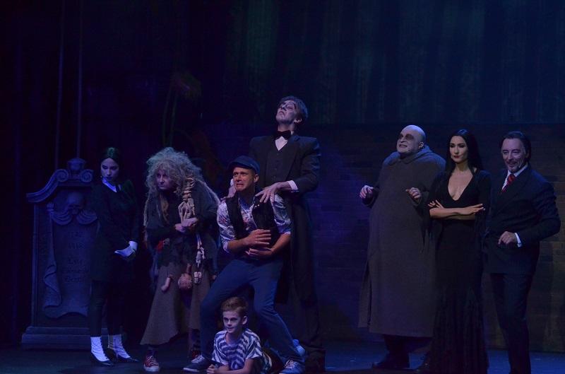 Rodzina Addamsów na scenie