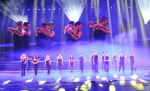 Gaelforce Dance na scenie - materiał prasowy