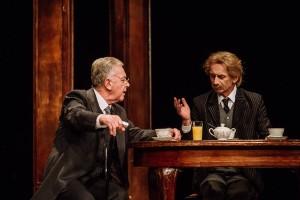 J.I. Paderewski (K. Tyniec) i prezydent Wilson (M. Lewandowski) - fot. Bartek Warzecha