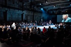 Widownia w Teatrze IMKA - fot. Monika Stolarska