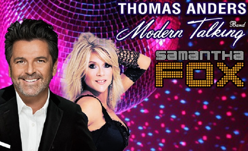 Thomas Anders i Samantha Fox