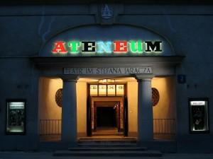 Wejście do Teatru Ateneum - fot. materiał prasowy