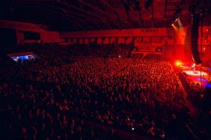 Widownia podczas koncertu - fot.Jakub Janecki