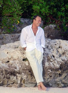 Julio Iglesias w plenerze - fot. materiał prasowy