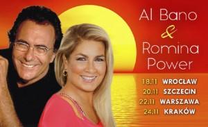 Al Bano i Romina Power na plakacie - materiał prasowy