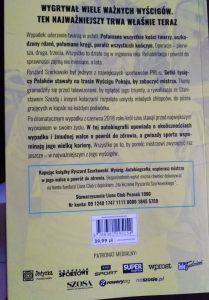 Ryszard Szurkowski. Wyścig - okładka końcowa/ fot. Roman Soroczyński
