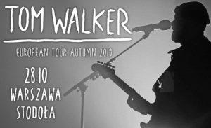 Tom Walker - plakat/ materiał prasowy