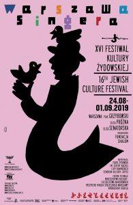 Plakat Festiwalu Warszawa Singera 2019