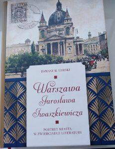 Warszawa Jarosława Iwaszkiewicza - okładka/fot. Roman Soroczyński