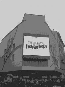 Fasada Teatru Bagatela - materiał prasowy Teatru