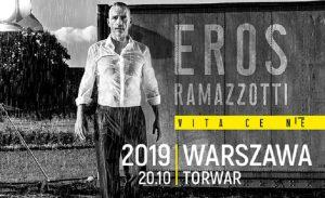 Eros Ramazzotti - plakat/ materiał prasowy