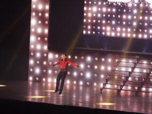 Pan Tańca fruwa w powietrzu - fot. Dominik Sikorski