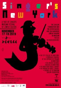 Singers New York 2019 - plakat/ materiał prasowy