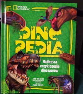 Dinopedia - okładka/ fot. Roman Soroczyński