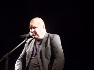 Marek Dyjak podczas Festiwalu Singera 2019 - fot. Roman Soroczyński