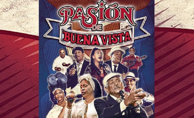 Pasion de Buena Vista - plakat