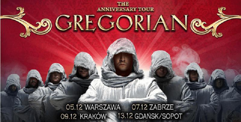 GREGORIAN - nowy plakat