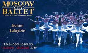 Jezioro Łabędzie jesień 2020 - plakat