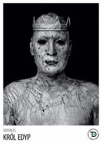 Król Edyp - plakat/Teatr Dramatyczny