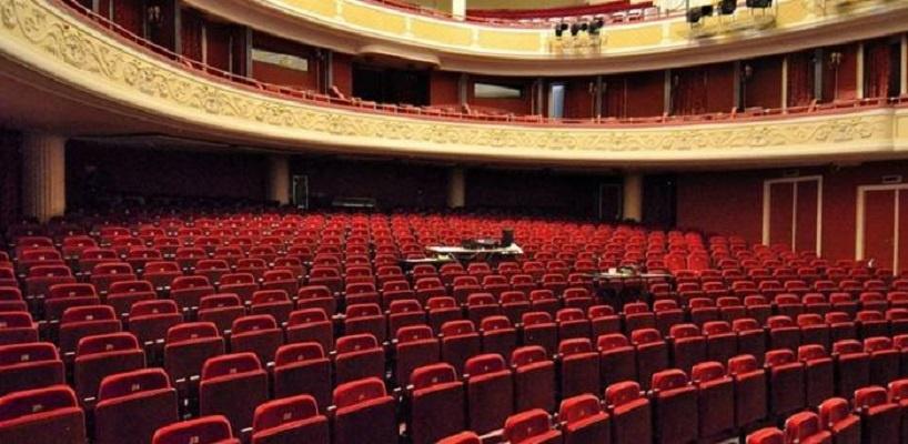 Widownia Teatru Polskiego w Warszawie - fot. materiał prasowy