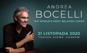Andrea Bocelli - plakat