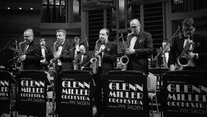 Saksofoniści z Glenn Miller Orchestra - fot. materiał prasowy