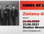 Kings of Leon - zmiana terminu/ materiał prasowy