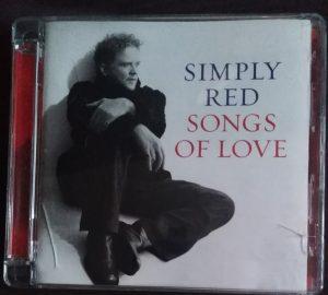 Simply Red Songs Of Love - okładka płyty