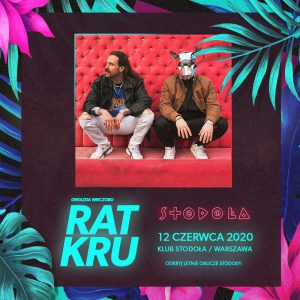 Zespół RAT KRU - plakat