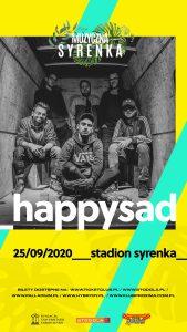 Happysad - plakat/fot. materiał prasowy