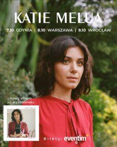 Katie Melua plakat/ materiał Organizatora