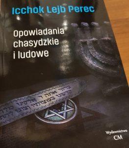 Opowiadania Pereca - okładka/ fot. Roman Soroczyński